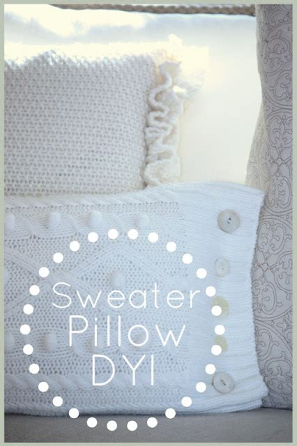 How To Make A Pillow From A Sweater by 10 Beautiful Diy Pillow Tutorials Page 2 Of 2 The