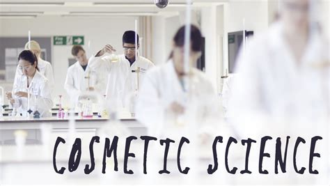 Cosmetic Scientist by Cosmetic Science A New Course Coming 2016