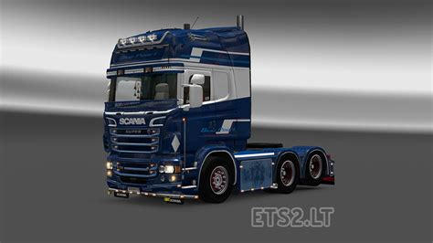 me and you and a named blue scania rjl blue pearl skin ets 2 mods