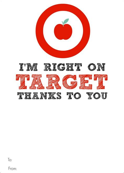 Can I Use A Target Gift Card On Amazon - target gift card printable teacher appreciation bitz giggles