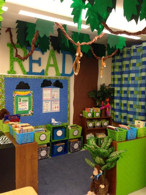jungle theme classroom decorations 1000 ideas about jungle theme classroom on