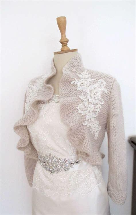 beaded bolero bridal ruffle bolero with beaded lace wedding shrug shawl