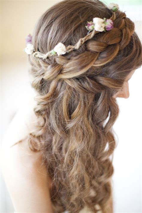 half up half down prom hairstyles tumblr prom hairstyles for medium hair half up half down braid