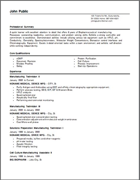 Sle Resume Biotechnology Professional Biotechnology Resume 18 Images Dr Ravi S Pandey Resume For Assistant Professor Research