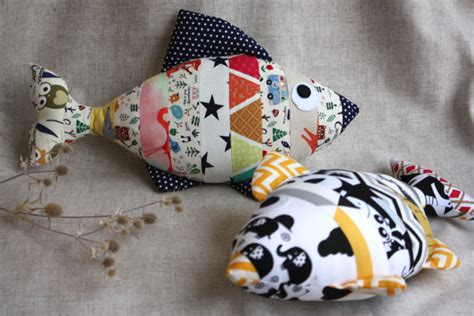Stuffed Fish Pillow by Stuffed Fish Decorative Pillow Fish Multicolor Fish