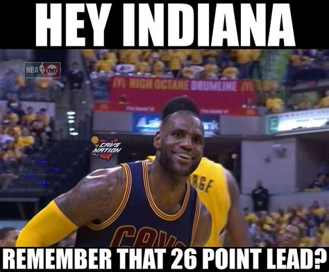 Pacers Meme - top 10 memes from cavaliers record breaking comeback over