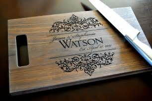 personalized cutting board laser engraved walnut 8x14 wood