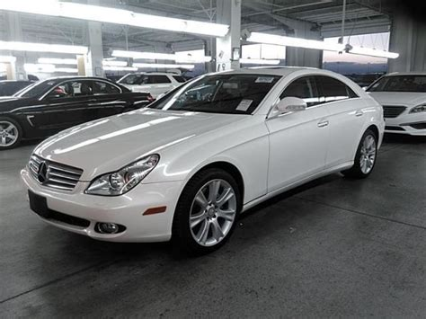 Mercedes Cls550 Used For Sale by Used 2008 Mercedes Cls550 Car For Sale At Auctionexport