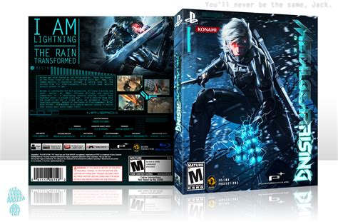 Ps3 Bd Metal Gear Rising metal gear rising revengeance playstation 3 box cover