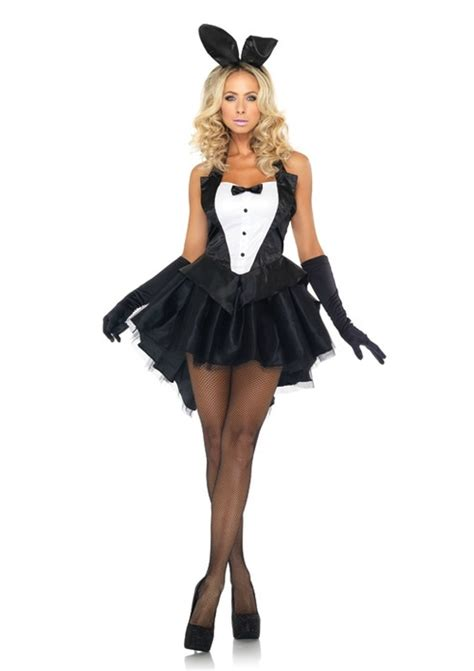 White Black And Pink Bedroom Bunny Costume For Women Masquerade Express