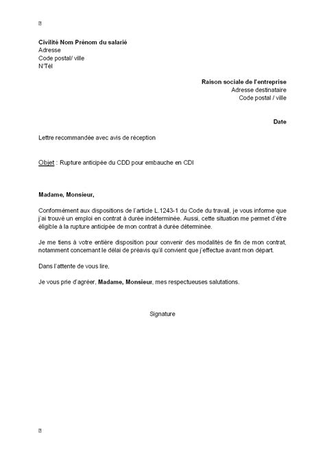 Lettre De Motivation Embauche Banque Lettre De Motivation Cdd Employment Application