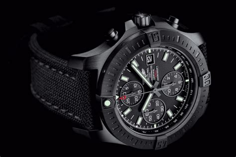 Breitling Black breitling colt model goes quot all black quot