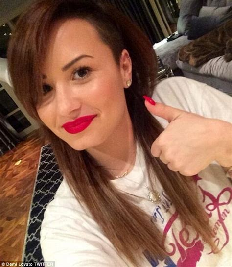 make up for a 43 year old demi lovato goes without her make up in a barefaced selfie