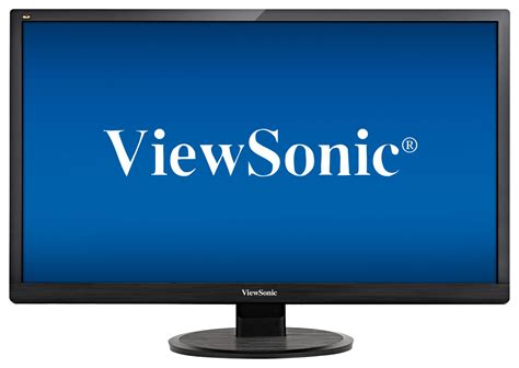 Monitor Viewsonic Va1601w Led viewsonic 28 quot led hd monitor black va2855smh best buy