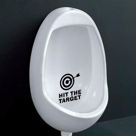 waterproof bathroom stickers hit the target waterproof funny toilet sticker bathroom
