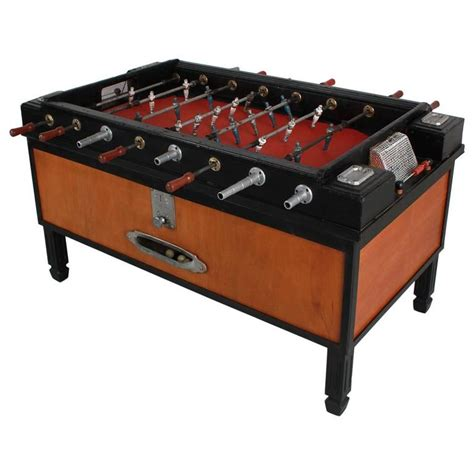 Foosball Table For Sale by 1940s Italian Foosball Table For Sale At 1stdibs