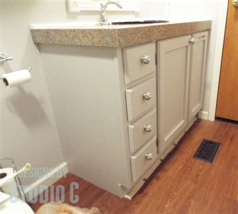 Plans For Bathroom Vanity by Diy Plans To Build A Bath Vanity With A Built In Clothes