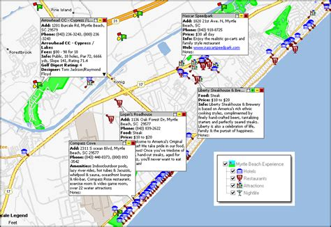 map of myrtle myrtle attractions map further map myrtle broadway at the along with myrtle