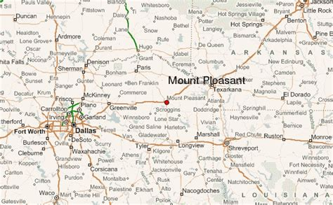 mt pleasant texas map alf img showing gt mount pleasant tx map