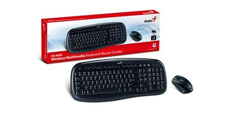 Keyboard Wireless Genius keyboard mouse wireless genius kb 8000