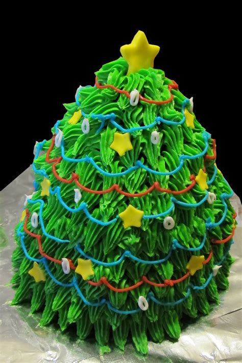 christmas buttercream cake ideas 73814 christmas tree butt