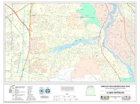 map of oregon lake oswego lake oswego oregon road map lake oswego oregon mappery