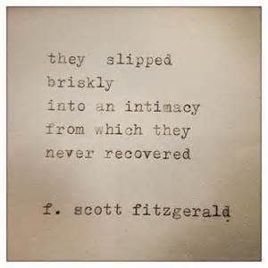 Love Quotes F by F Scott Fitzgerald Love Quotes Quotesgram