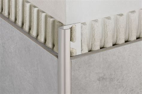 schluter 174 rondec edging outside wall corners for walls profiles schluter com