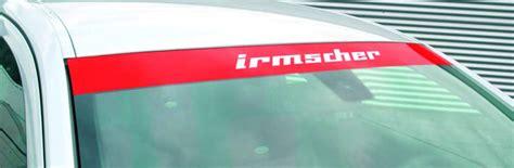 Opel Tigra Twintop Aufkleber by Irmscher Windschutzscheibenaufkleber F 252 R Astra Corsa Tigra