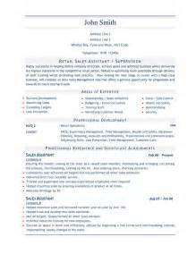 Household Assistant Sle Resume by Retail Sales Resume Sales Assistant 3 Stuff Shops Retail And Resume