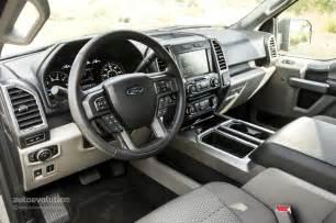 2015 Ford F150 Interior 2015 Ford F 150 Review Autoevolution