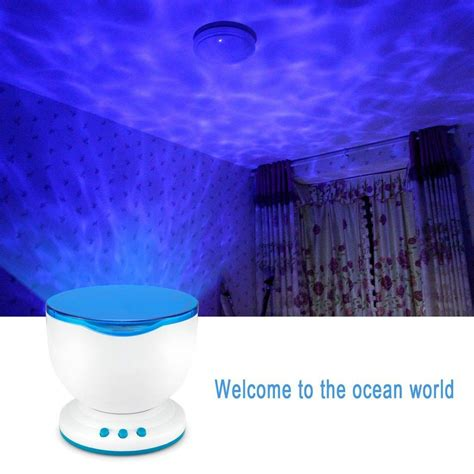 waves light ceiling projector the
