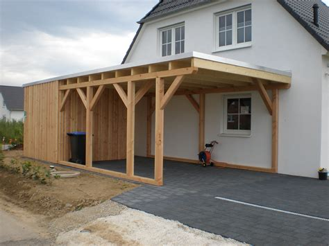carport bauen holz carports 220 berdachungen bauen in brandenburg havel