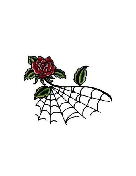 spider web and rose tattoos 1000 ideas about spider web on web