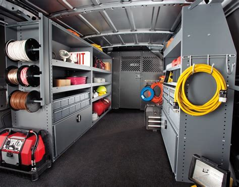 Plumbing Truck Setup by 7 Factors To Consider When Upfitting Cargo Vans Article
