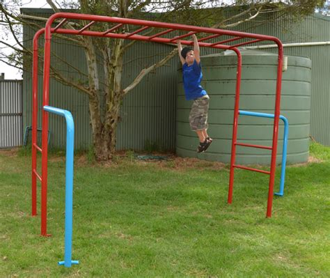 monkey bars for backyard tumble monkey bars playground equipment from cubbykraft
