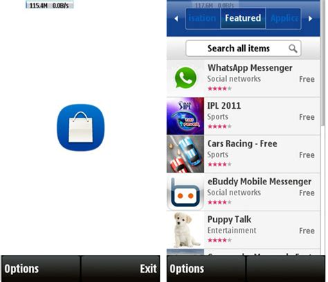 ovi store for mobile ovi store mobile app is now nokia store app for s60v5 devices