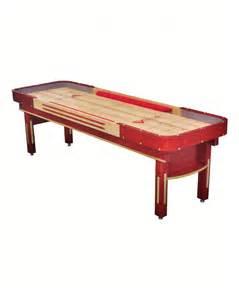 bumper bank shuffleboard tables venture grand
