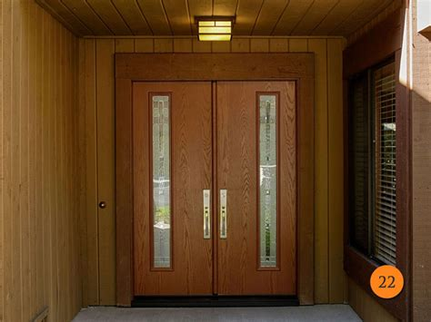 mid century entryway design front entry ideas 18 front door contemporary design double doors 5 light modern