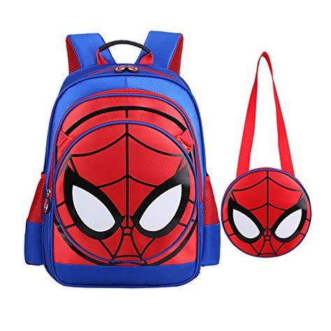 best gifts for spiderman fans boys backpack spiderman fans gift waterproof comic