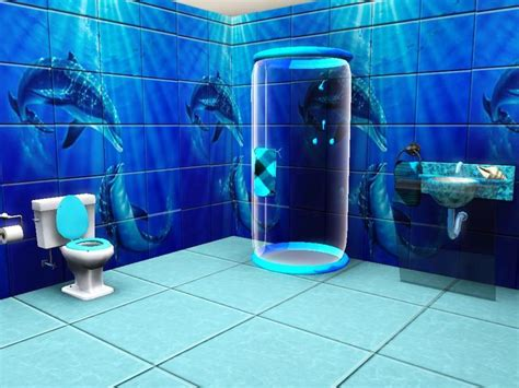 Cool Wall Murals rennara s dolphin mural bathroom tiles