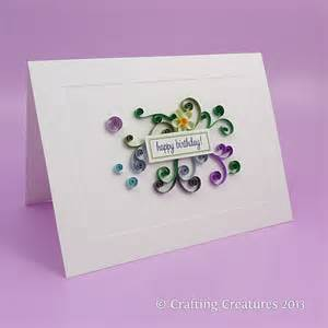 how to make e greeting cards quilling crafting creatures