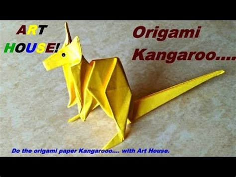 How To Make An Origami Kangaroo - origami kangaroo jo nakashima funnycat tv