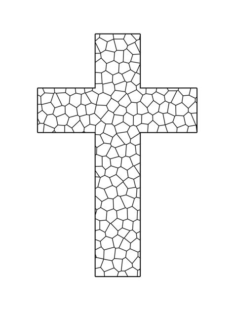 Printable Cross Coloring Pages Coloring Me Cross Color Pages