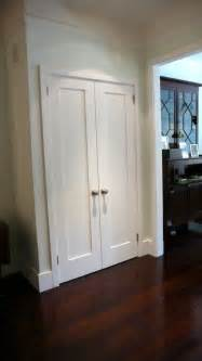 Foyer Closet Doors Doors Instead Of Bifold For The Home Doors Laundry Closet And