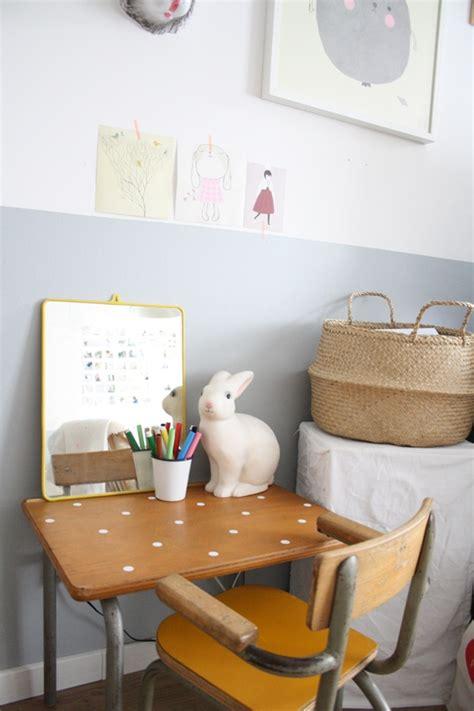 deco bureau enfant bureau ecolier vintage deco chambre enfant 2