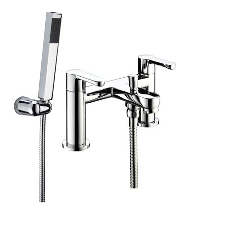 bristan bath shower mixer taps bristan nero bath shower mixer tap with shower kit