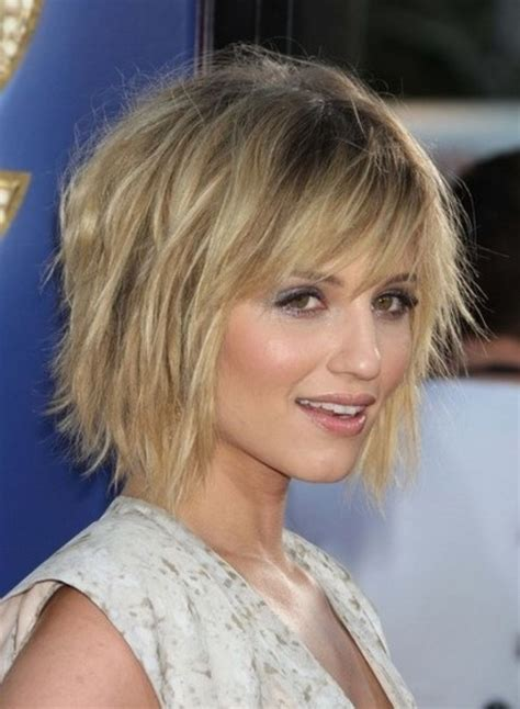 chunky layers for fine hair short chunky layered haircuts
