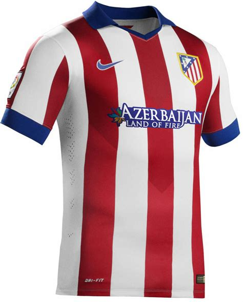 jaket atletico madrid n98 red 2014 2015 big match new atl 233 tico madrid 14 15 home and away kits footy headlines