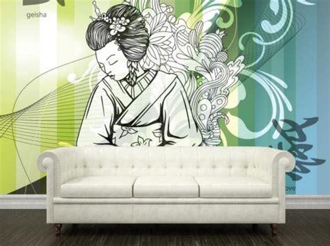 interior wall murals japanese wallpaper mural interior